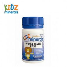 KIDZ minerals Pain fever ease 发烧疼痛片 100片